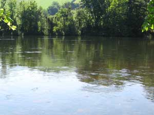 Sycamore Shoals of the Watauga River